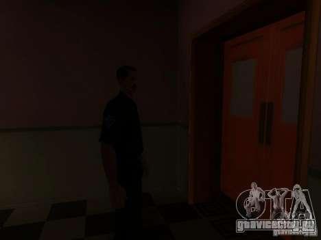 Вход в полицейскую зону в Сан Фиеро для GTA San Andreas восьмой скриншот