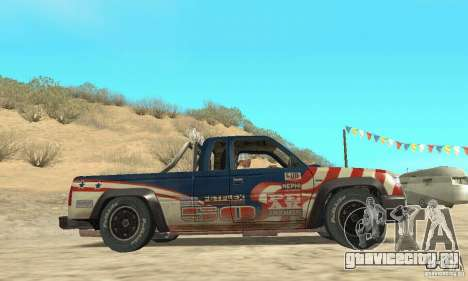 Nevada v1.0 FlatOut 2 для GTA San Andreas вид справа