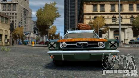 Ford Mustang GT MkI 1965 для GTA 4 вид справа