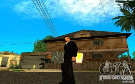 Алмазная руда из игры Minecraft для GTA San Andreas третий скриншот