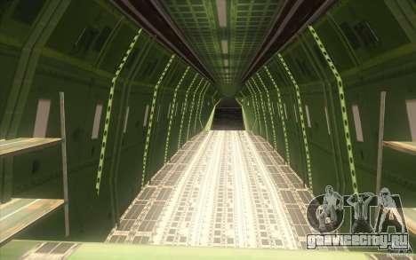Улучшенная Андромеда для GTA San Andreas вид снизу