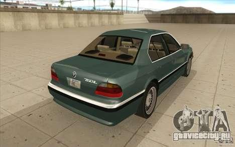 BMW 750iL 1995 для GTA San Andreas вид сбоку