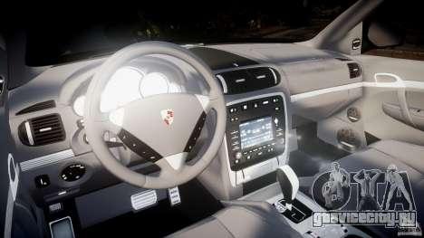 Porsche Cayenne Turbo S 2009 Tuning для GTA 4 вид сзади