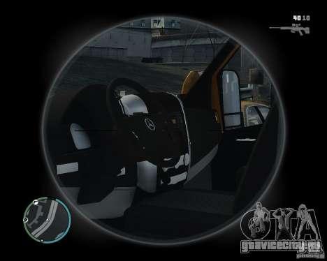Mercedes-Benz Sprinter TNT для GTA 4 вид сзади