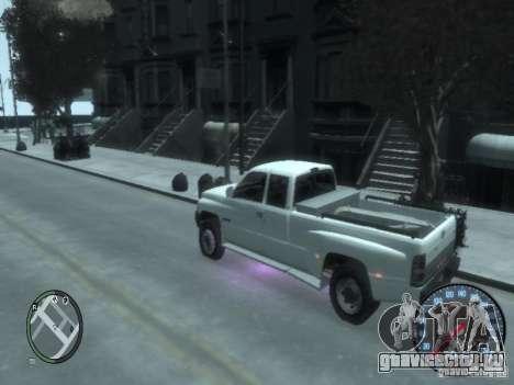 Dodge Ram 3500 для GTA 4 вид справа