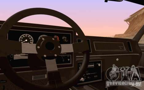 Buick GNX 1987 для GTA San Andreas колёса