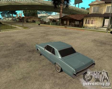 PONTIAC GTO 65 для GTA San Andreas вид слева