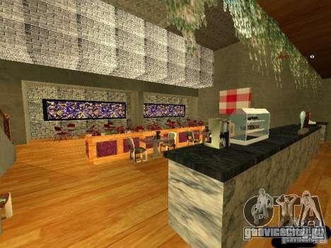 Новый интерьер Marco Bistro для GTA San Andreas третий скриншот