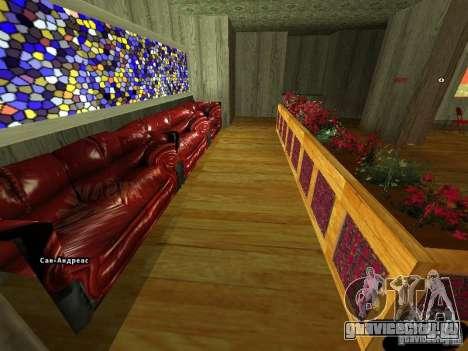 Новый интерьер Marco Bistro для GTA San Andreas второй скриншот