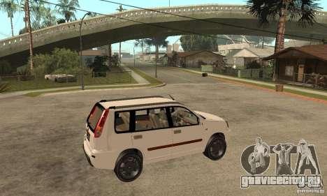 Nissan X-Trail для GTA San Andreas вид справа