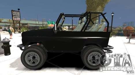 УАЗ-3150 Шалун для GTA 4 вид слева
