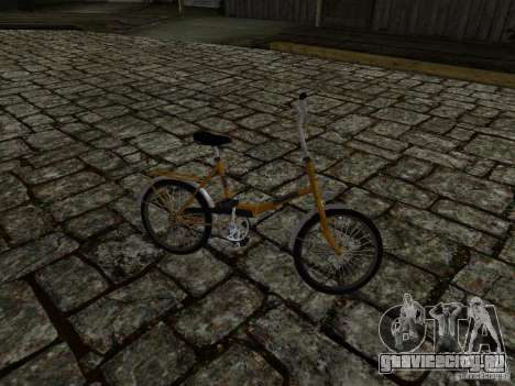 Romet Wigry 3 для GTA San Andreas вид изнутри