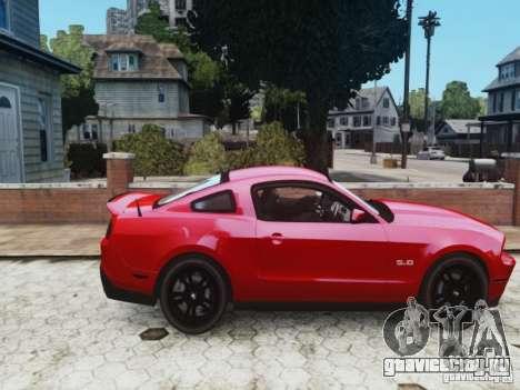 Ford Mustang GT 2011 для GTA 4 вид справа