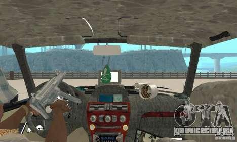 ВАЗ 2106 Fantasy ART tunning для GTA San Andreas вид сзади