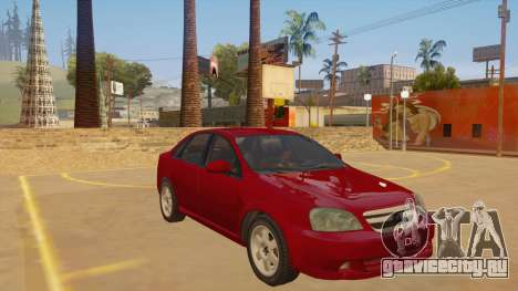 Buick Excelle для GTA San Andreas вид сзади