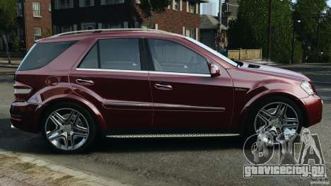 Mercedes-Benz ML63 (AMG) 2009 для GTA 4 вид слева