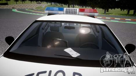 Ford Crown Victoria Karachi Traffic Police для GTA 4 вид снизу