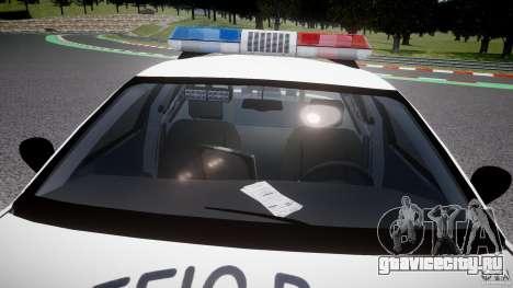 Ford Crown Victoria Karachi Traffic Police для GTA 4 вид снизу