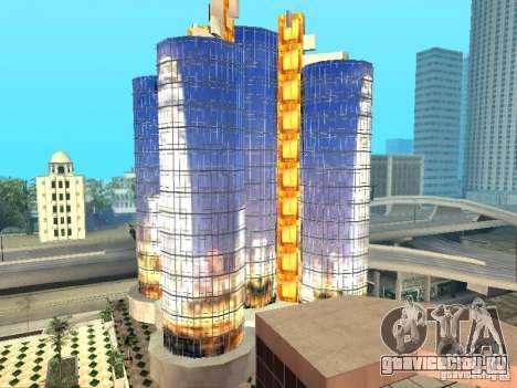 Новая текстура небоскреба для GTA San Andreas третий скриншот