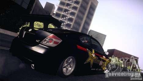 Scion TC Rockstar Team Drift для GTA San Andreas вид слева