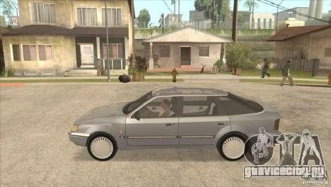 Ford Scorpio для GTA San Andreas вид сзади слева