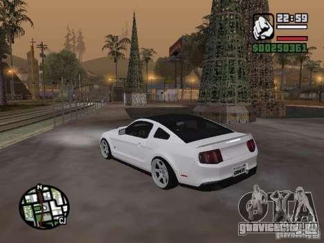 Ford Mustang GT B&W для GTA San Andreas вид слева