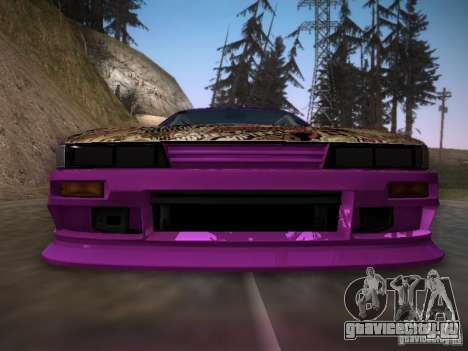 Nissan Silvia S13 Team Burst для GTA San Andreas вид сверху