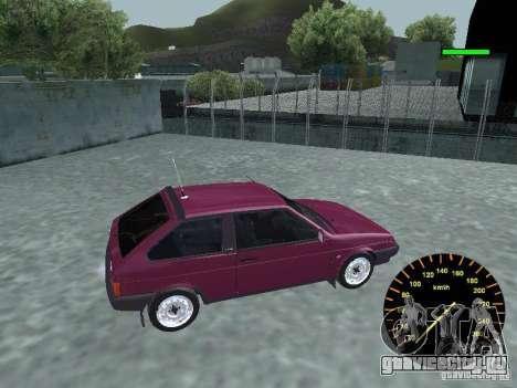 ВАЗ 2108 classic для GTA San Andreas вид слева