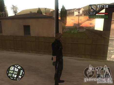 Wesker из RE5 для GTA San Andreas четвёртый скриншот