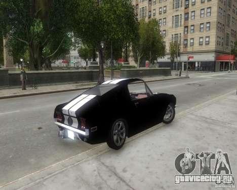 Ford Mustang Tokyo Drift для GTA 4 вид сзади слева