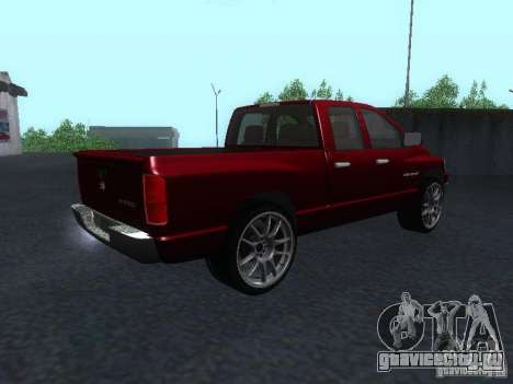 Dodge Ram 1500 v2 для GTA San Andreas вид слева