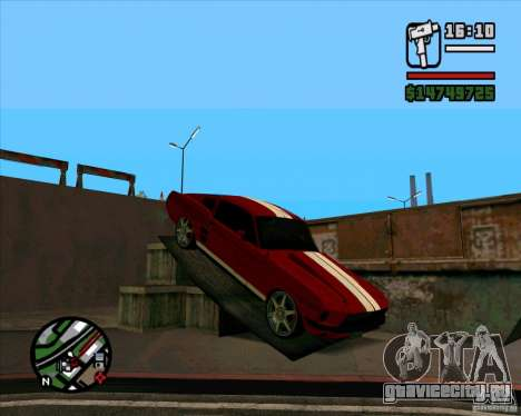 Ford Mustang 67 HotRot для GTA San Andreas