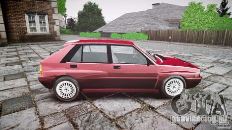 Lancia Delta HF Integrale Dealers Collection для GTA 4 вид сзади