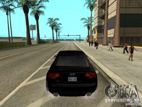 Audi RS 4 для GTA San Andreas вид слева