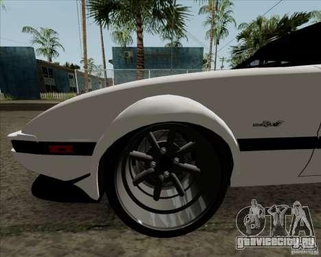 Mazda RX-7 FB Race для GTA San Andreas вид сбоку