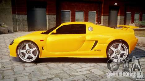 Watson R-Turbo Roadster для GTA 4 вид слева