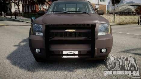 Chevrolet Tahoe Indonesia Police для GTA 4 вид сбоку