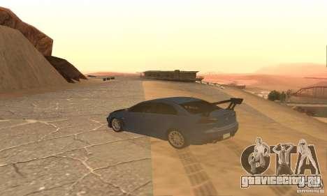 New Drift Zone для GTA San Andreas пятый скриншот
