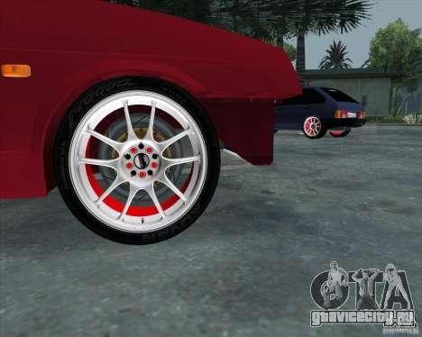 ВАЗ 2109 Drift для GTA San Andreas вид справа