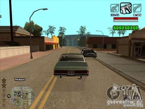 HUD by Alex для GTA San Andreas второй скриншот