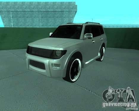 Mitsubishi Pajero STR I для GTA San Andreas