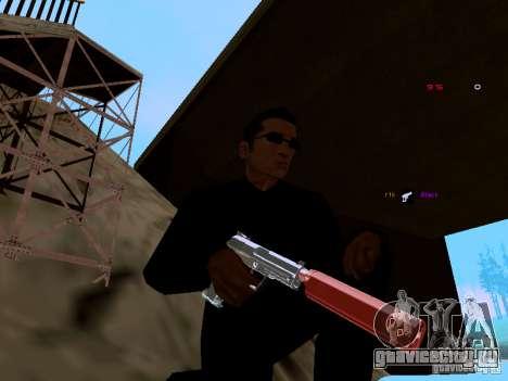 Ice Weapon Pack для GTA San Andreas второй скриншот