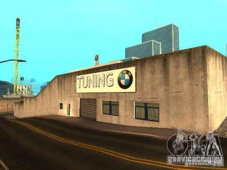 Автосалон BMW в Сан Фиеро для GTA San Andreas третий скриншот