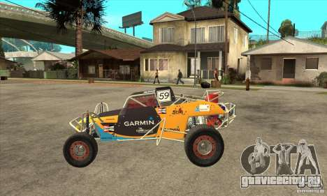 Dirt 3 Stadium Buggy для GTA San Andreas вид слева