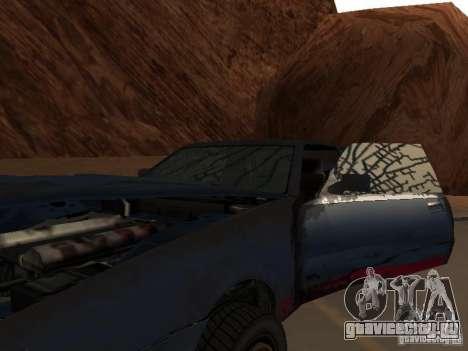 Emperor Rusty из GTA 4 для GTA San Andreas вид изнутри
