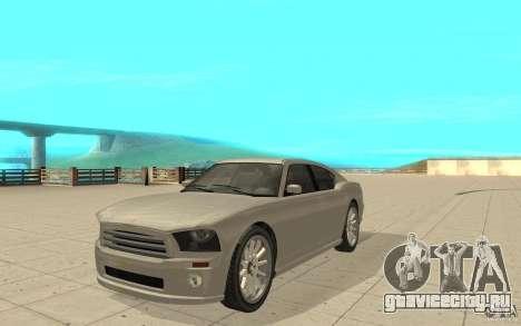 FIB Buffalo из GTA 4 для GTA San Andreas