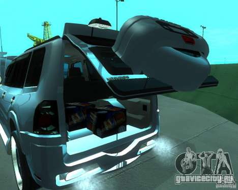 Mitsubishi Pajero STR I для GTA San Andreas вид сзади
