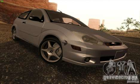 Ford Focus SVT TUNEABLE для GTA San Andreas