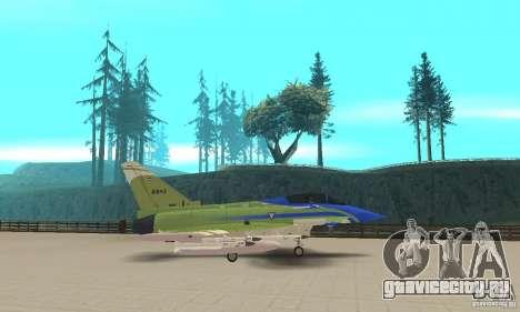 Eurofighter 2010 для GTA San Andreas вид слева
