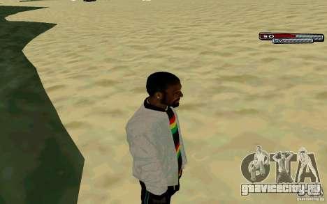 Ямайский  HD Skin для GTA San Andreas третий скриншот
